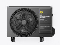 Air Conditioning Mockup - Front View