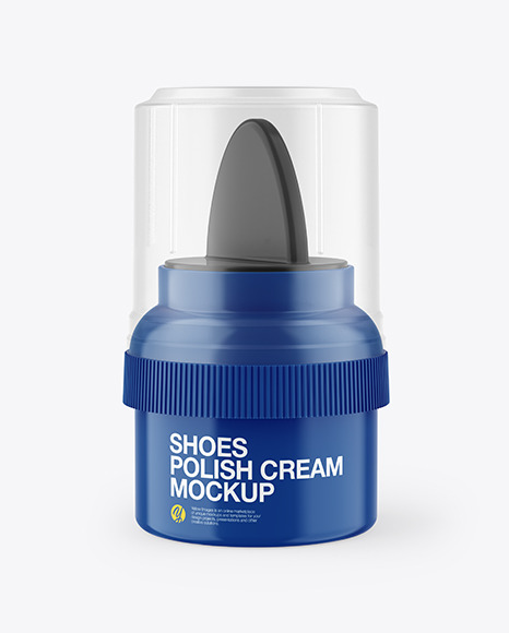 Glossy Shoes Polish Cream Tube Mockup