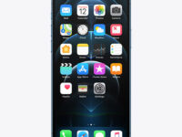 iPhone 12 Pro Frontal Mockup
