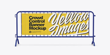 Crowd Control Banner Mockup