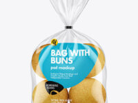 Bag with Buns Mockup