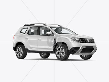 Compact Crossover SUV - Half Side View