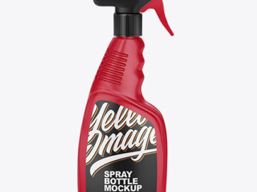 Trigger Spray Bottle Mockup