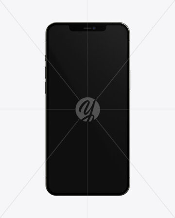 Apple iPhone 12 Pro Max Graphite Mockup