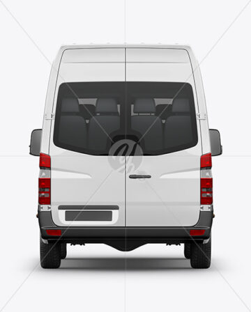 Van Mockup - Back View