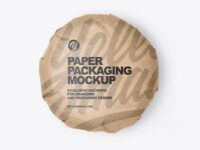 Kraft Paper Packaging Mockup