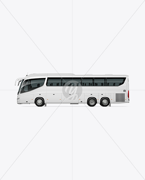 Bus Mockup - Side View