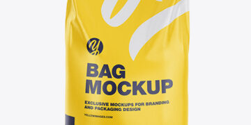 Polypropylene Bag 3D Mockup