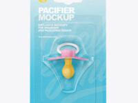 Pacifier Mockup
