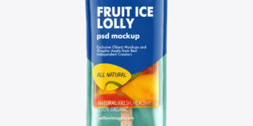 Fruit Ice Lolly Mockup
