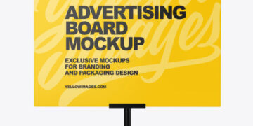 Advertising Board Mockup
