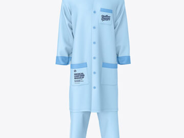 Medical Uniform Mockup – Front View