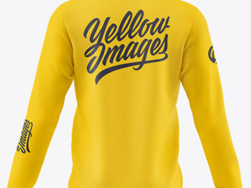 Men's Long Sleeve T-Shirt - Back View