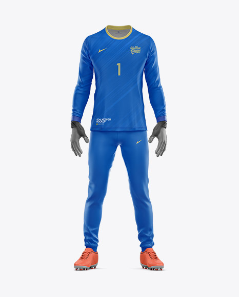 Goalkeeper Mockup - Front View