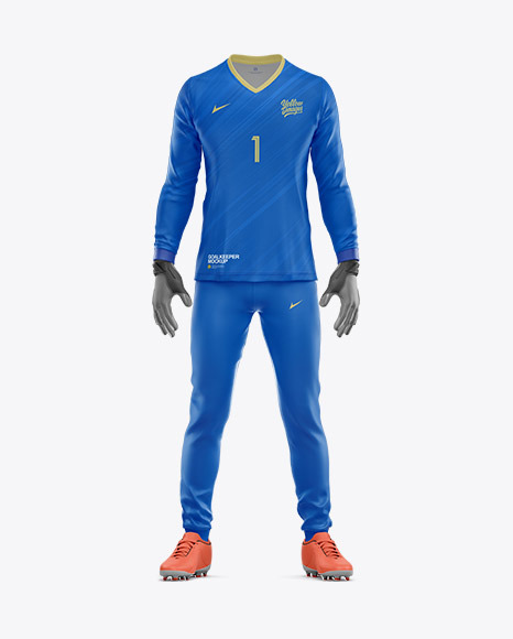 Goalkeeper Mockup – Front View