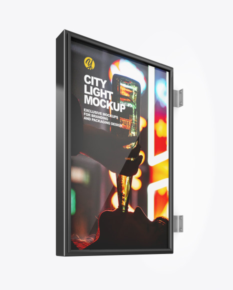 City Light Poster Mockup