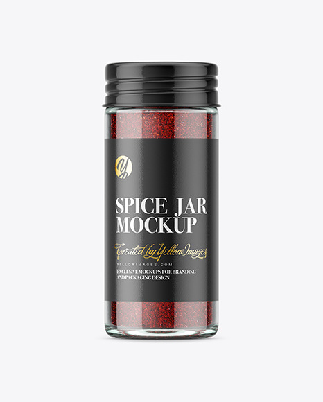 Spice Jar with Sumac Mockup