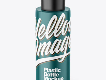 Matte Cosmetic Bottle Mockup