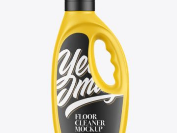 Cleaning Agent Bottle Mockup