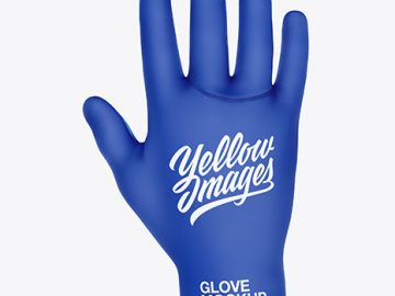 Cycling Glove Mockup
