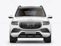 Full-size luxury SUV Mockup - Front View