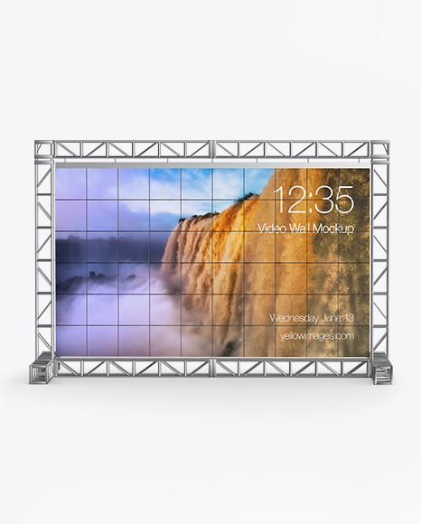 Event LED Video Wall Mockup