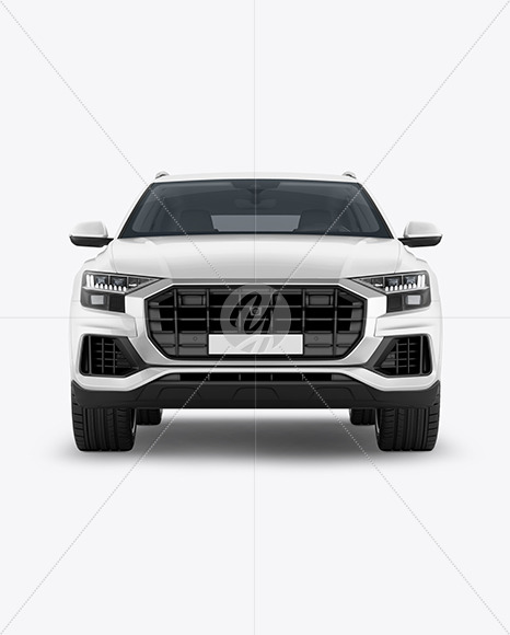 Crossover SUV - Front View