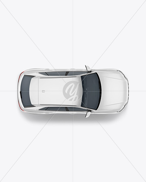 Crossover SUV - Top View