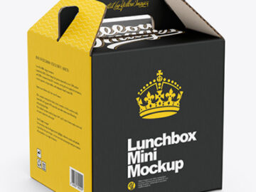 Lunchbox Mini Mockup