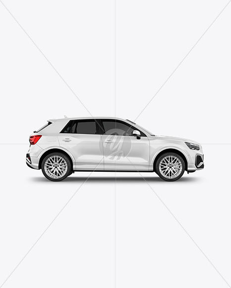 Luxury Crossover SUV - Side View