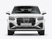 Luxury Crossover SUV - Front View