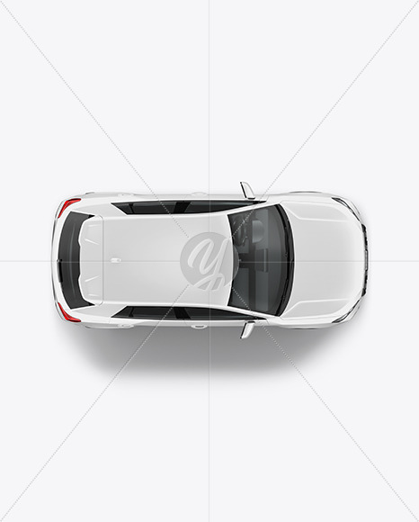 Luxury Crossover SUV - Top View