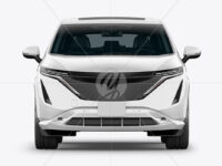 Electric Crossover SUV - Front View