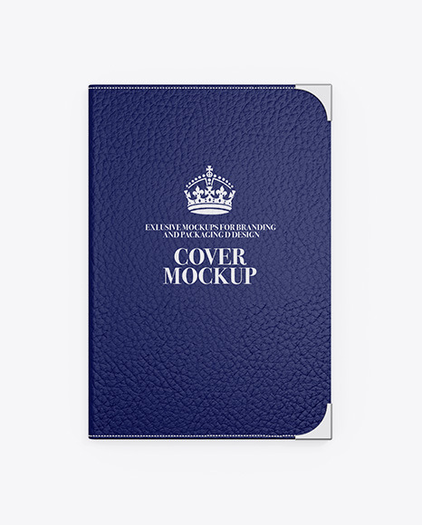 Leather Cover Mockup
