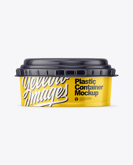 Glossy Plastic Container