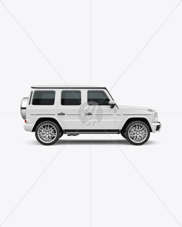 Full-size Luxury SUV - Side View