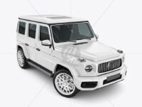 Full-size Luxury SUV - Half Side View