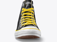 Leather Sneaker Mockup - Front View
