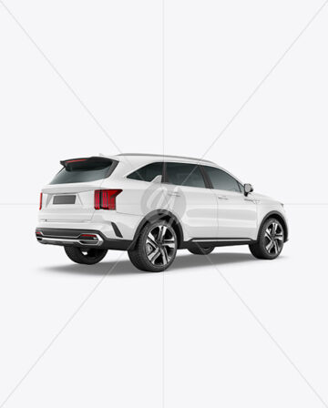 Compact Crossover SUV - Back Half Side