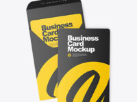 Business Cards Cover Mockup